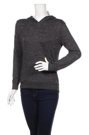 Дамска спортна блуза Active&Co, Размер S, Цвят Сив, 83% полиестер, 15% вискоза, 2% еластан, Цена 18,90лв.