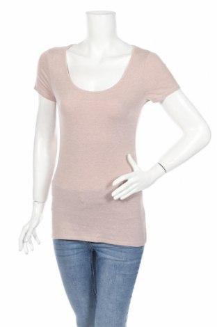 Γυναικείο t-shirt, Μέγεθος S, Χρώμα  Μπέζ, Τιμή 10,82€