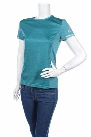 Γυναικείο t-shirt Adidas, Μέγεθος S, Χρώμα Μπλέ, Τιμή 18,76€