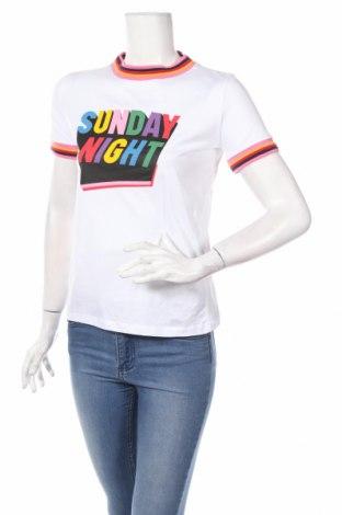 Γυναικείο t-shirt Clockhouse, Μέγεθος S, Χρώμα Λευκό, Βαμβάκι, Τιμή 16,65€