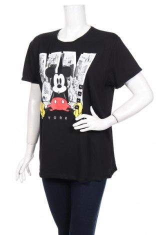Γυναικείο t-shirt Disney, Μέγεθος XL, Χρώμα Μαύρο, Βαμβάκι, Τιμή 22,92€