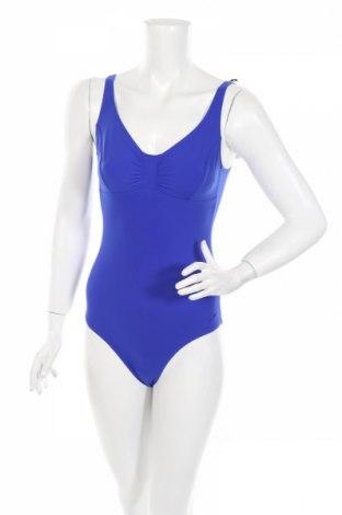 Дамски бански Speedo, Размер S, Цвят Син, 69% полиамид, 31% еластан, Цена 42,00лв.