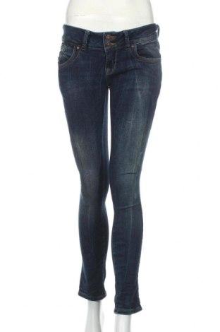 Дамски дънки Ltb, Размер M, Цвят Син, 98% памук, 2% еластан, Цена 46,20лв.