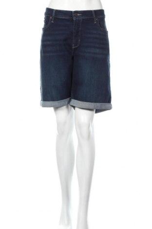 Дамски къс панталон Levi's, Размер XXL, Цвят Син, 84% памук, 14% полиестер, 2% еластан, Цена 89,00лв.