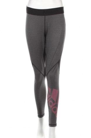 Γυναικείο κολάν Adidas, Μέγεθος XL, Χρώμα Γκρί, 83% πολυεστέρας, 17% ελαστάνη, Τιμή 31,54€