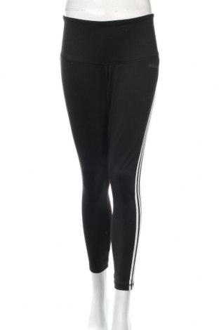 Γυναικείο κολάν Adidas, Μέγεθος XL, Χρώμα Μαύρο, 89% πολυεστέρας, 11% ελαστάνη, Τιμή 29,32€