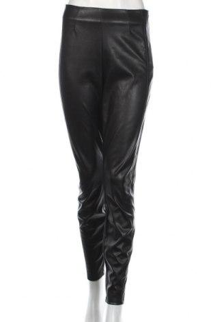 Damskie skórzane spodnie Hugo Boss, Rozmiar M, Kolor Czarny, Eko skóra, Cena 291,38zł