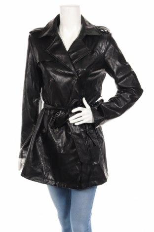 Dámsky kožený prechodný kabát  K.zell, Veľkosť L, Farba Čierna, Eko koža , Cena  29,32€