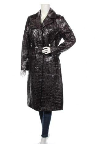 Dámsky kožený prechodný kabát  Topshop, Veľkosť L, Farba Hnedá, Eko koža , Cena  35,36€