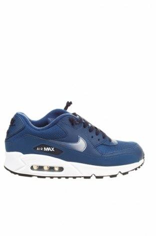 Topánky  Air Jordan Nike, Veľkosť 41, Farba Modrá, Pravá koža , Eko koža , textil, Cena  40,82€