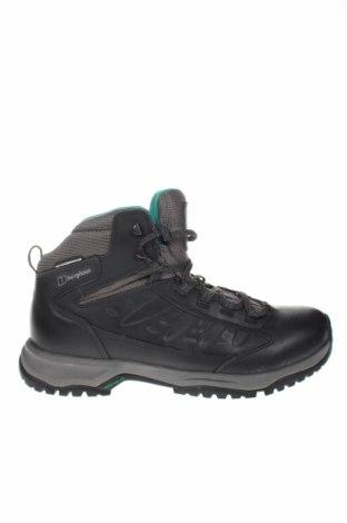 Női cipők Berghaus, Méret 42, Szín Fekete, Valódi bőr, textil, Ár 13200 Ft