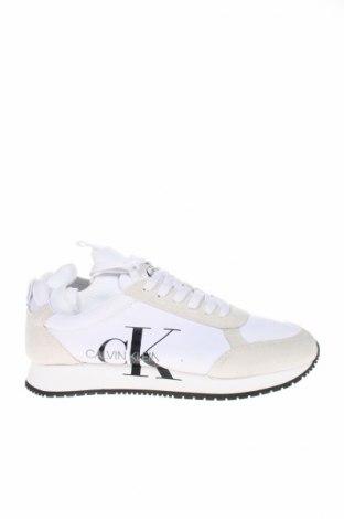 Încălțăminte Calvin Klein Jeans, Mărime 41, Culoare Alb, Textil, Preț 338,21 Lei