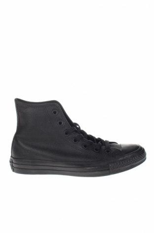 Încălțăminte de damă Converse All Star, Mărime 37, Culoare Negru, Piele naturală, Preț 237,63 Lei