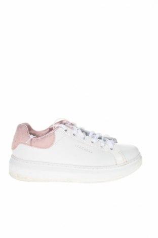 Női cipők Skechers, Méret 38, Szín Fehér, Eco bőr, valódi velúr, Ár 12480 Ft