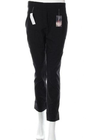 Дамски панталон Anna Montana, Размер M, Цвят Черен, 77% вискоза, 21% полиамид, 2% еластан, Цена 29,93лв.