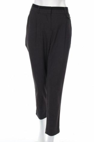 Дамски панталон Adrienne Vittadini, Размер XL, Цвят Сив, 63% полиестер, 33% вискоза, 4% еластан, Цена 38,49лв.