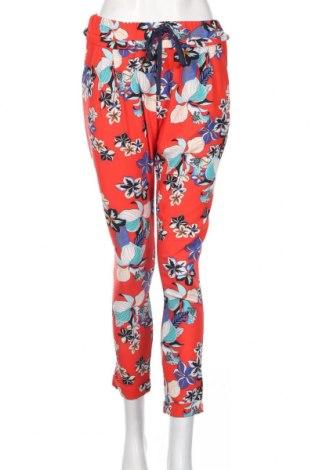Дамски панталон Amelie & Amelie, Размер M, Цвят Многоцветен, 95% полиестер, 5% еластан, Цена 21,26лв.