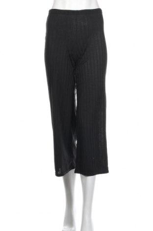 Дамски панталон Boohoo, Размер XXS, Цвят Черен, 95% полиестер, 5% еластан, Цена 35,77лв.