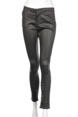 Дамски панталон Cache Cache, Размер L, Цвят Зелен, 62% памук, 35% полиестер, 3% еластан, Цена 20,04лв.