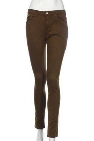 Дамски панталон Cache Cache, Размер M, Цвят Зелен, 75% памук, 22% полиестер, 3% еластан, Цена 20,04лв.