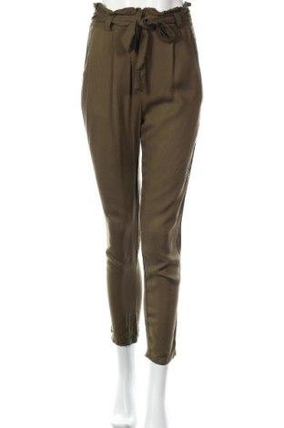 Дамски панталон Cache Cache, Размер S, Цвят Зелен, Цена 22,66лв.