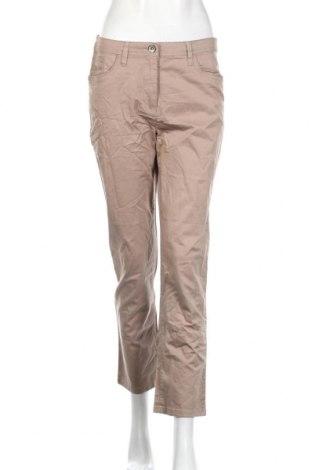 Γυναικείο παντελόνι Canda, Μέγεθος M, Χρώμα  Μπέζ, 98% βαμβάκι, 2% ελαστάνη, Τιμή 4,77€