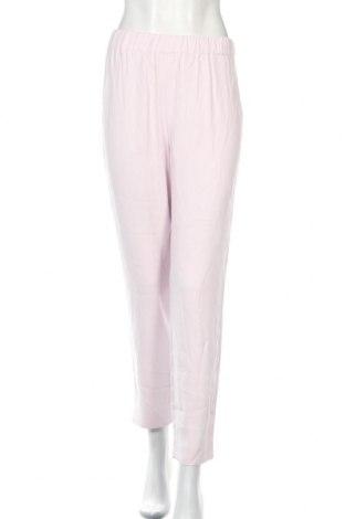 Дамски панталон French Connection, Размер L, Цвят Розов, Вискоза, Цена 106,40лв.