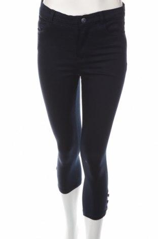 Дамски панталон LCW, Размер M, Цвят Син, 64% памук, 32% полиестер, 4% еластан, Цена 28,50лв.