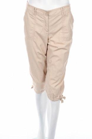 Дамски панталон Loft By Ann Taylor, Размер L, Цвят Бежов, Памук, Цена 11,38лв.