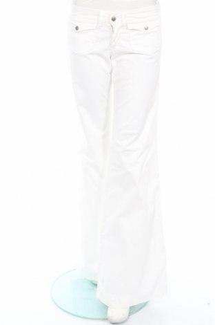 Дамски панталон Replay, Размер XS, Цвят Бял, 98% памук, 2% еластан, Цена 12,30лв.