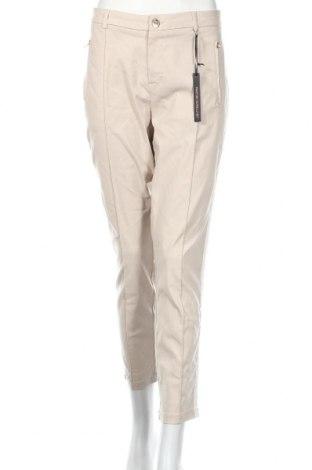 Γυναικείο παντελόνι Street One, Μέγεθος L, Χρώμα  Μπέζ, 73% βισκόζη, 23% πολυαμίδη, 4% ελαστάνη, Τιμή 29,32€