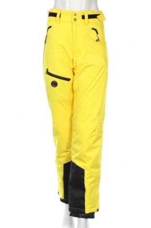 Дамски панталон за зимни спортове iFLOW, Размер S, Цвят Жълт, Полиестер, Цена 136,50лв.