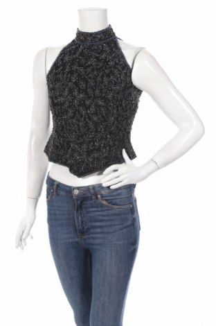 Дамски потник Adrianna Papell, Размер S, Цвят Черен, 100% коприна, Цена 79,59лв.