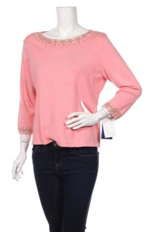 Γυναικείο πουλόβερ, Μέγεθος XL, Χρώμα Ρόζ , 53% μετάξι, 25% βισκόζη, 21% πολυαμίδη, 1% άλλα υφάσματα, Τιμή 41,00€