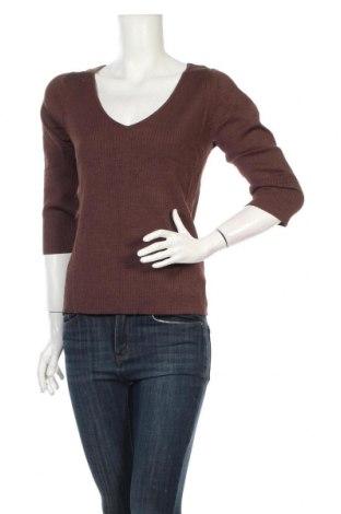 Γυναικείο πουλόβερ August Silk, Μέγεθος L, Χρώμα Καφέ, 52% μετάξι, 24% πολυαμίδη, 25% βισκόζη, Τιμή 37,39€