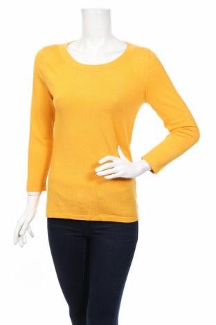 Γυναικείο πουλόβερ August Silk, Μέγεθος S, Χρώμα Κίτρινο, 38% βισκόζη, 33% μετάξι, 29% πολυαμίδη, Τιμή 27,76€