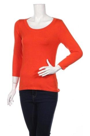 Γυναικείο πουλόβερ August Silk, Μέγεθος S, Χρώμα Πορτοκαλί, 38% βισκόζη, 33% μετάξι, 29% πολυαμίδη, Τιμή 39,46€