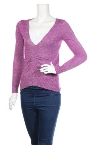 Дамски пуловер Gate, Размер M, Цвят Розов, 55% рамия, 30% вискоза, 13% полиамид, 2% еластан, Цена 21,61лв.