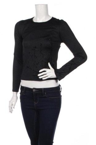 Γυναικείο πουλόβερ New Frontier, Μέγεθος S, Χρώμα Μαύρο, Μετάξι, Τιμή 31,37€