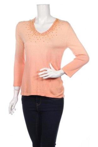 Γυναικείο πουλόβερ Preswick & Moore, Μέγεθος M, Χρώμα Ρόζ , 80% μετάξι, 20% βαμβάκι, Τιμή 55,48€