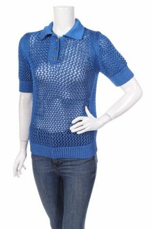Γυναικείο πουλόβερ Zara Knitwear, Μέγεθος S, Χρώμα Μπλέ, 68% βισκόζη, 32% πολυαμίδη, Τιμή 14,47€