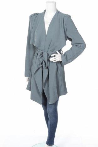 Γυναικεία καμπαρντίνα Object, Μέγεθος XL, Χρώμα Μπλέ, Πολυεστέρας, Τιμή 42,11€