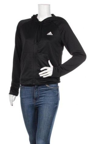 Γυναικείο φούτερ Adidas, Μέγεθος M, Χρώμα Μαύρο, Πολυεστέρας, Τιμή 33,03€