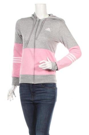 Γυναικείο φούτερ Adidas, Μέγεθος XXS, Χρώμα Γκρί, 60% βαμβάκι, 40% πολυεστέρας, Τιμή 29,22€