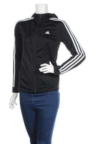 Γυναικείο φούτερ Adidas, Μέγεθος S, Χρώμα Μαύρο, Πολυεστέρας, Τιμή 35,40€