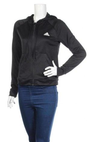 Γυναικείο φούτερ Adidas, Μέγεθος M, Χρώμα Μαύρο, Πολυεστέρας, Τιμή 23,86€