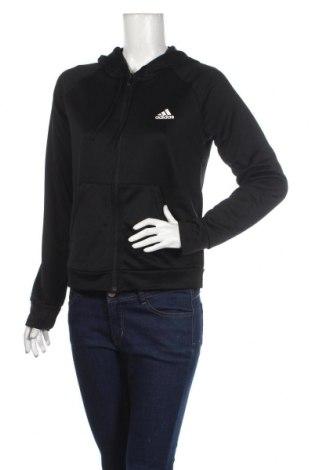 Γυναικείο φούτερ Adidas, Μέγεθος M, Χρώμα Μαύρο, Πολυεστέρας, Τιμή 38,21€