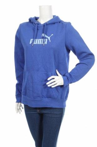Dámska mikina  PUMA, Veľkosť L, Farba Modrá, Bavlna, polyester, Cena  44,91€