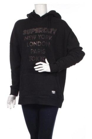 Dámska mikina  Superdry, Veľkosť M, Farba Čierna, 86% bavlna, 14% polyester, Cena  33,03€