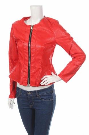 Γυναικείο δερμάτινο μπουφάν, Μέγεθος M, Χρώμα Κόκκινο, Δερματίνη, Τιμή 28,94€